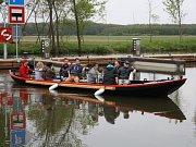 Petrovský přístav Baťova kanálu.