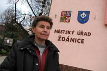 Starostka Ždánic Iva Stafová.