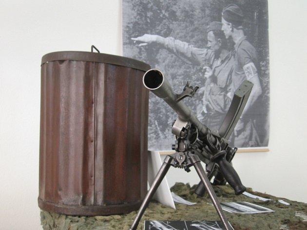 Jeden z exponátů výstavy v Radniční galerii v Kyjově