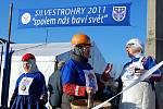 Silvestrohry v Ratíškovicích - U brány čekal výpravu poslední úkol.