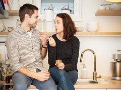 Barbora a Michal Adamcovi – tvůrci webu Obrázky z lásky.