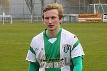 Mladý obránce Slovanu Jan Mokrý po příchodu do Bzence nezažil porážku.