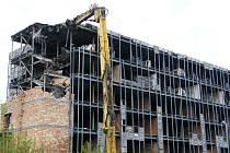 Bourání hotelu