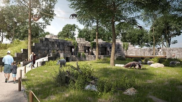 Nová podoba zoologického zahrady v Hodoníně.
