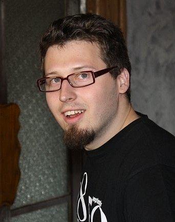 Šestadvacetiletý Libor Červínek si jídlo hlídá. Vaří si idoma.