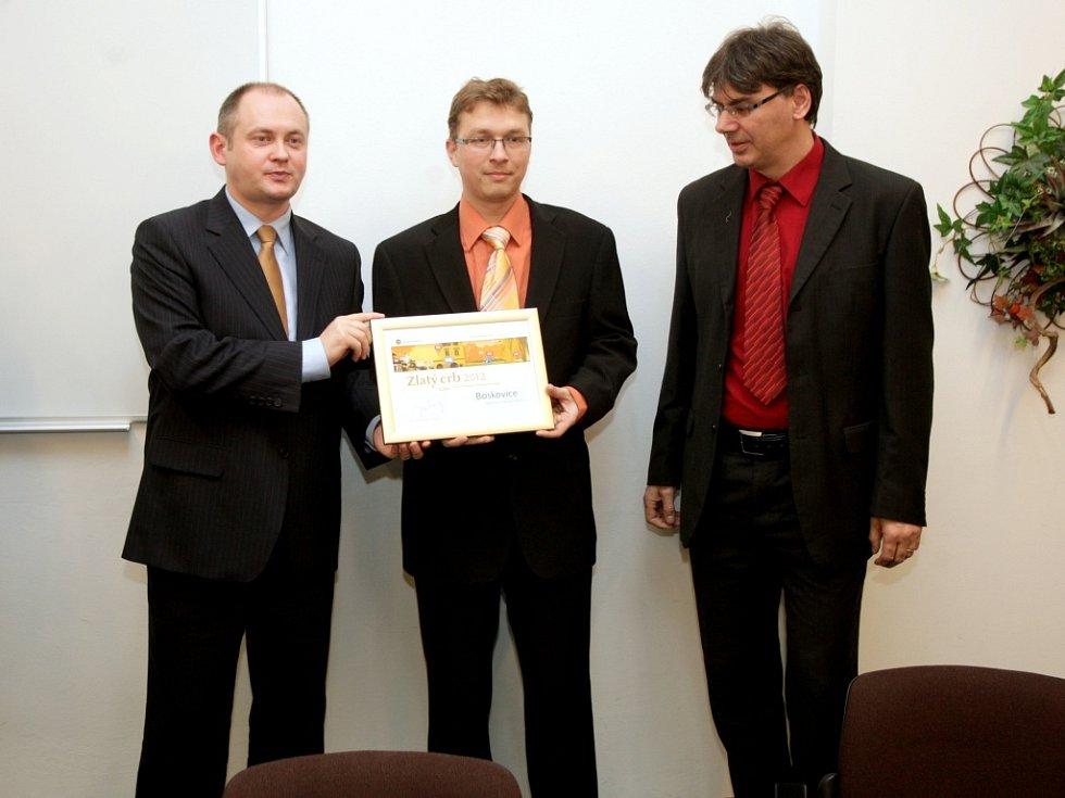 Soutěž jihomoravských internetových stránek Zlatý erb.