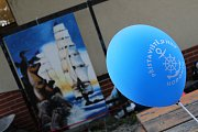 Dny otevřených ateliérů u hodonínského přístaviště spolu s Divočinou u jezu.