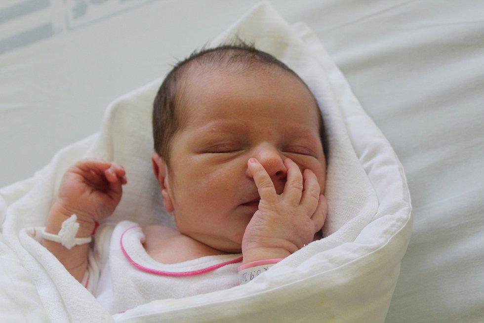 Sofie Lamáčková, 3. září 2019, 51 centimetrů, 3360 gramů, Mutěnice, Nemocnice Kyjov