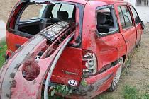 Škoda po dopravní nehodě je 45 tisíc korun.