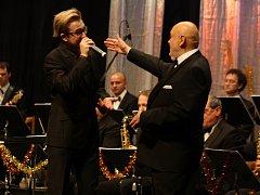 Václav Hybš s orchestrem potěšili Hodonín vánočním koncert, při kterém si připomněli jubilea.