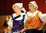 Členové Folklorního souboru Salajka z Dambořic oslavili patnáctileté výročí. Připravili si pro diváky celovečerní vystoupení s názvem V Dambořické hospodě.
