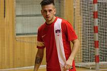 Slovenský futsalista Marián Rehák (na snímku) se v pátečním zápase proti Baníku Ostrava blýskl hattrickem. Béčko Hodonína prohrálo 4:6.