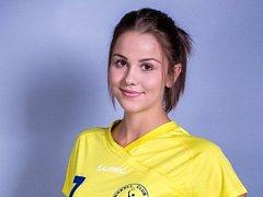 Šikovná devatenáctiletá spojka Natálie Gärtnerová vyměnila Zlín za Hodonín, který trénuje otec René.