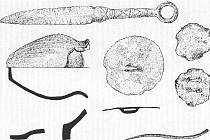 DÝKA. Na pozemku vodárny narazili dělníci při výkopech na nádobu s lidskými kostmi a bronzovými předměty.