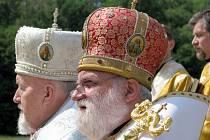 Cyrila a Metoděje si pravoslavní v Mikulčicích připomenou i letos. Ve velkém.