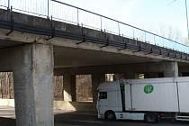 Most v Brněnské ulici v Hodoníně se dočká rekonstrukce.