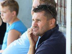Trenér Petr Vybíral (na snímku) skončil na lavičce fotbalového MSK Břeclav.