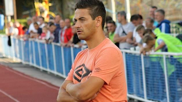 Bývalý trenér Krumvíře Viktor Linhart.