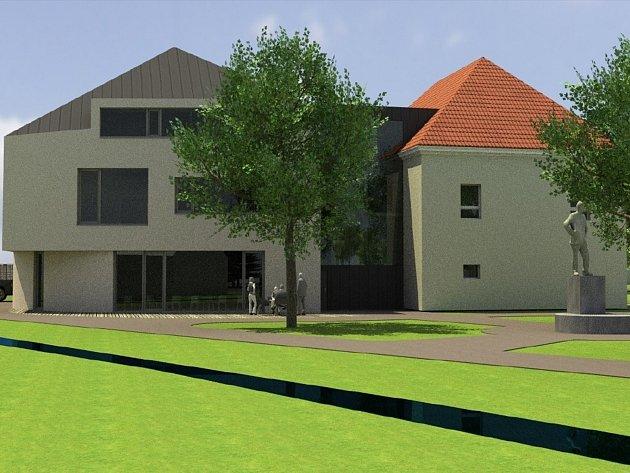Studie základní a mateřské školy v Kostelci představuje možnosti nahrazení nevyhovující budovy.