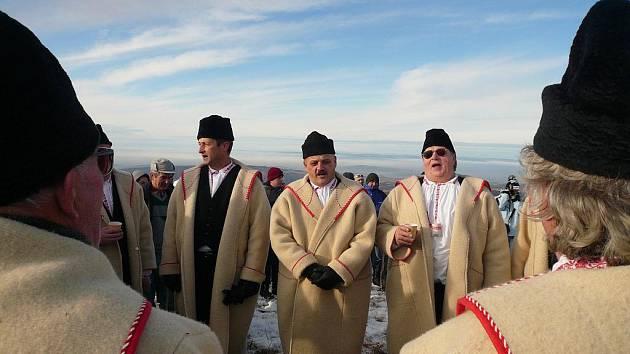 ILUSTRAČNÍ FOTO: Češi a Slováci se sešli na Velké Javořině.