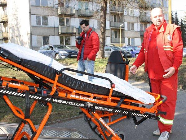 Kyjovská nemocnice má novou sanitku. Složily se na ni obce Kyjovska.
