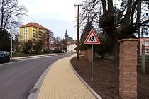 Nová podoba Jánošíkovy ulice za hodonínskou radnicí.