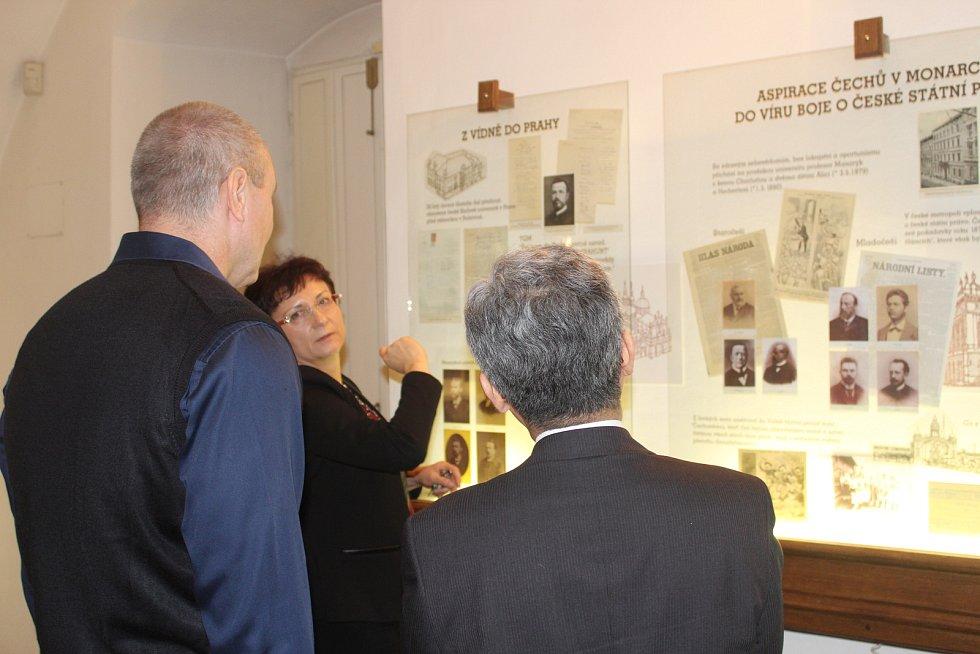 Japonský velvyslanec dorazil do Masarykova muzea.