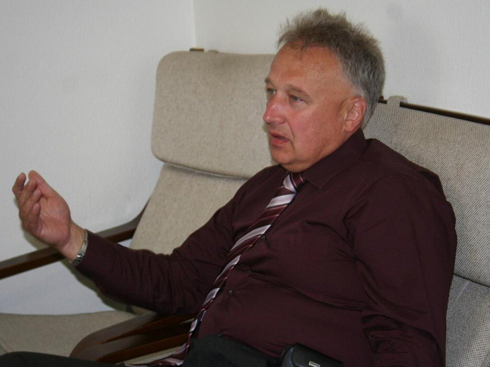 Bývalý hodonínský starosta Lubor Šimeček