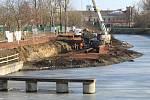 Zahájení stavebních prací na modernizaci a rozšíření přístavu ve Veselí nad Moravou.