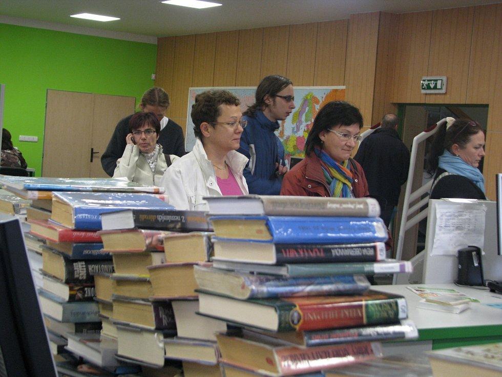 Hodonínská Městská knihovna. Ilustrační foto