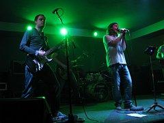 Rakouská kapela XBloome v hodonínském hudebním klubu Nautilus.