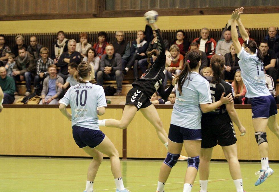 Házenkářky Veselí prohrály v Olomouci o devět branek.