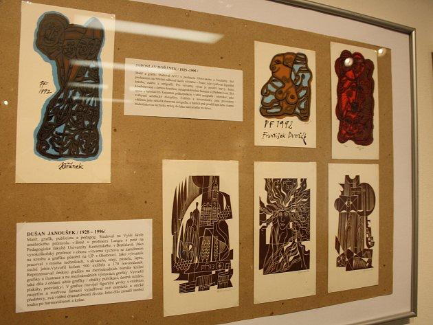 Hodonínské regionální centrum představuje výběr z unikátních sbírek novoročenek Rudolfa Príbyše.