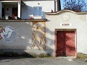 Habánský sklep v centru Vacenovic.