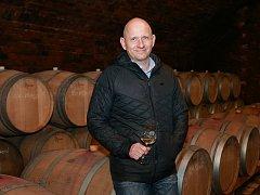 Ředitel Zámeckého vinařství Bzenec Bořek Svoboda.