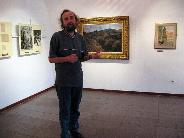 Umělec v galerii