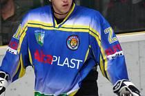 Útočník Břeclavi Roman Barták se vrátil na hodonínský led.