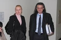 Hlavní líčení s poslancem Věcí veřejných Otto Chaloupkou a jeho bývalým asistentem Vařejkou.