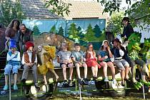 V Rohatci vystoupí herci z Dětského kočovného divadélka z Kyjova.