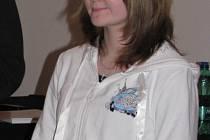 Strážnická stolní tenistka Eva Helísková