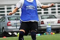 Fotbalistka Slovácka Nikola Sedláčková patří v ligovém týmu mezi neuniverzálnější hráčky.