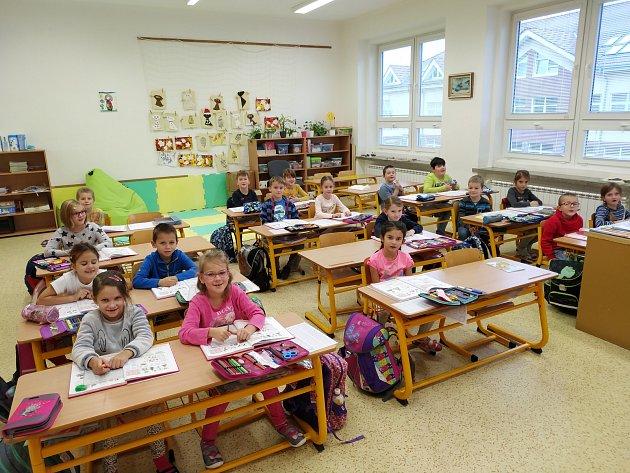 Žáky 1.B třídy Základní školy Dubňany učí Markéta Moravcová.