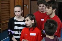 Setkání hodonínských žákovských parlamentů v duchu Společně.