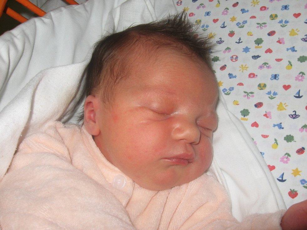 Aneta Dolinajcová, 19.11. 2012, Čejkovice, 52 cm, 4,00 kg