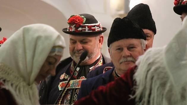 Lidé v Kyjově zaplnili kostel, aby si užili tříkrálový koncert.