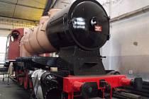 Veselští opravili po 25 letech parní lokomotivu.