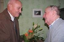 Manželé Jan a Marie Vavřínovi oslavili sedmdesát let manželství.