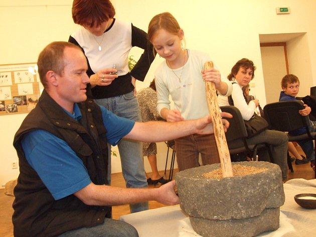 Výstava archeologie