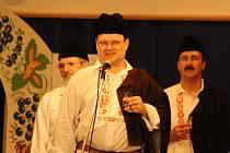 Desáté předfašaňkové setkání mužských sborů ve Vacenovicích. Mužský sbor z Vacenovic.