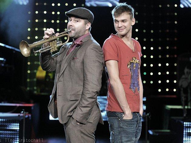 Josef Buchta s Vojtou Dykem (vpravo).